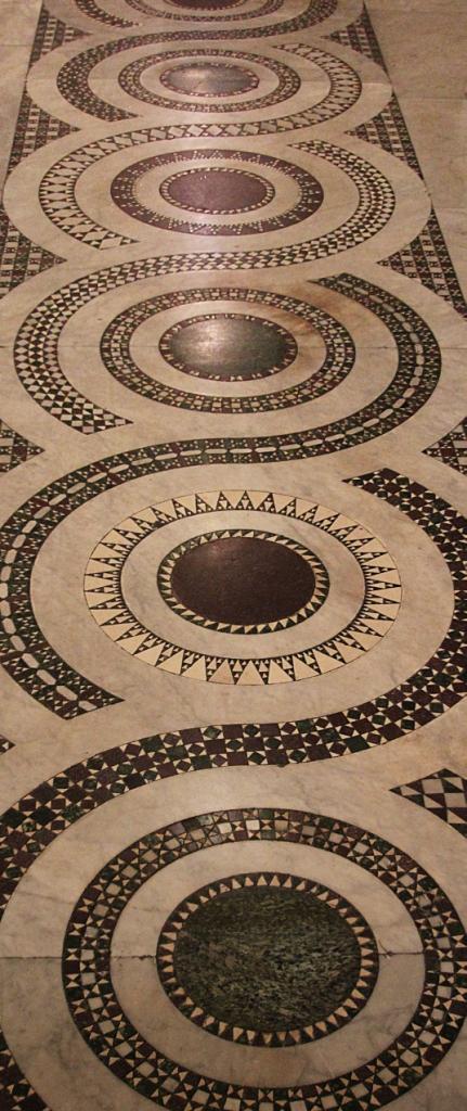 Floor in S maria in Cosmedin