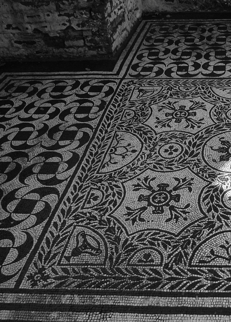 Mosaics in Hadrian's Villa